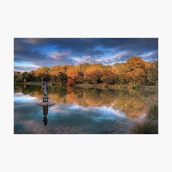South Thorden Park Lake Photographic Print
