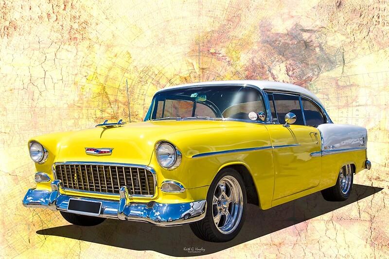 '1955 Chevy' by Hawley Designs