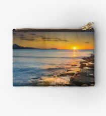 Bolso de mano Sun kissed rocks and waves
