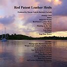Red Patent Leather Heels-back cover` by Wayne Cook