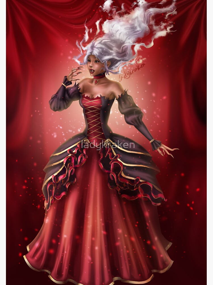 Mist Vampire by ladykraken