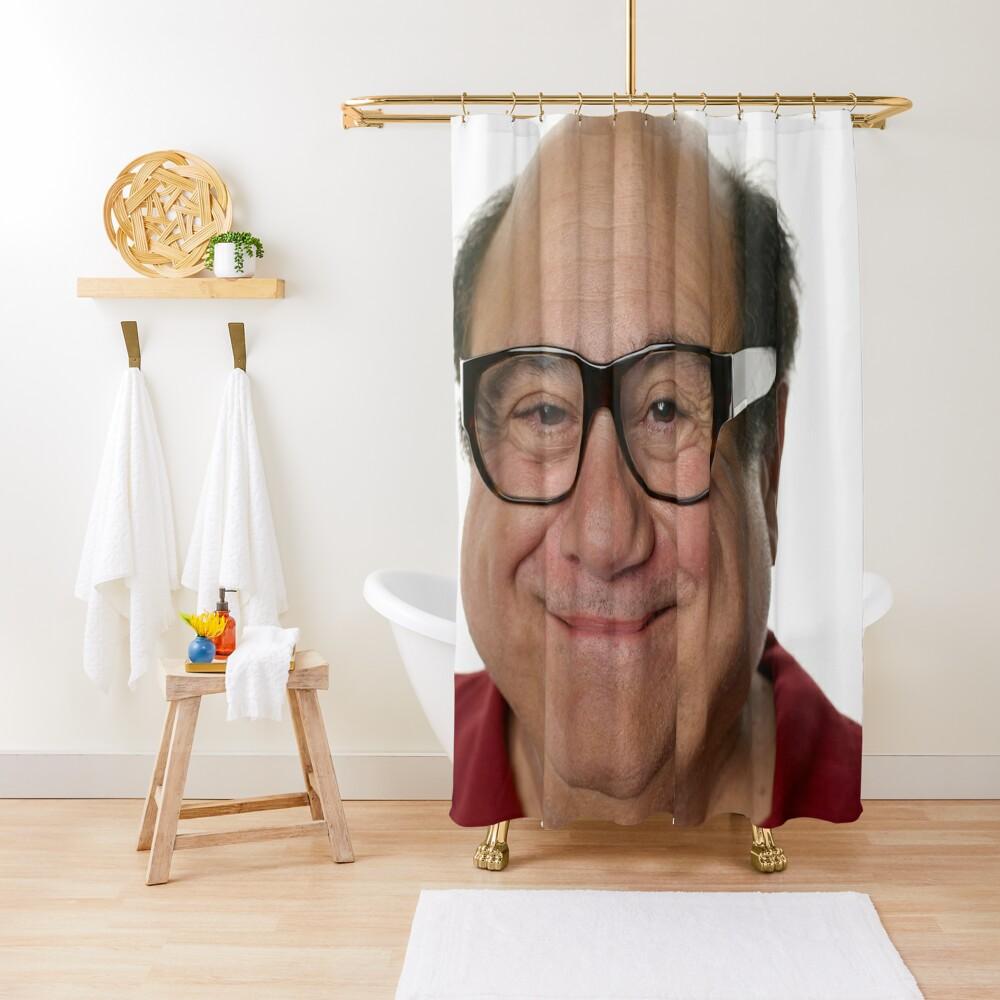DeVito Shower Curtain