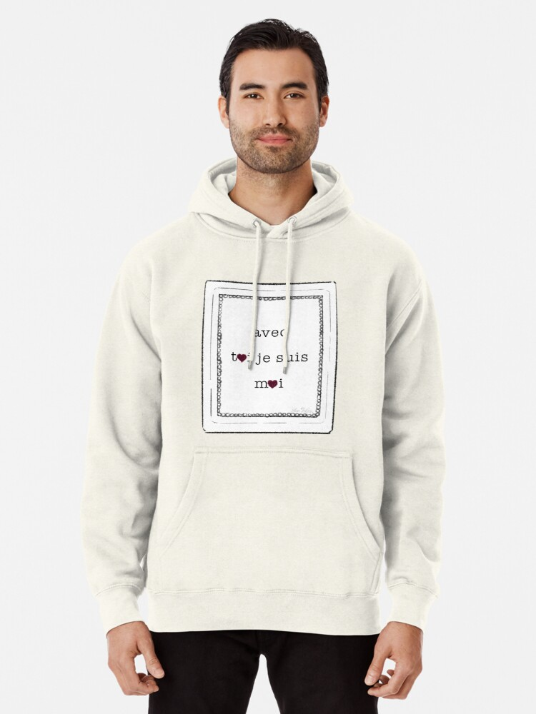 Alternate view of amour Pullover Hoodie