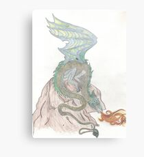 TK's Dragon Metal Print
