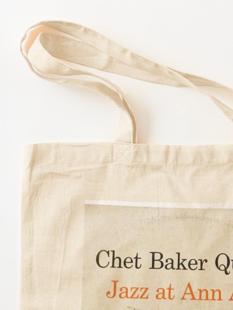 Alternate view of Chet Baker Quartet – Jazz At Ann Arbor  Tote Bag