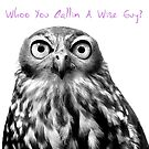 Whoo You Callin A Wise Guy? Calendar by Marion  Cullen