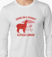 Going On A Picnic? Long Sleeve T-Shirt
