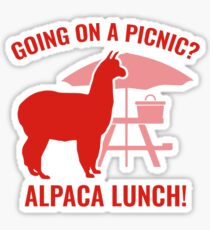 Going On A Picnic? Sticker