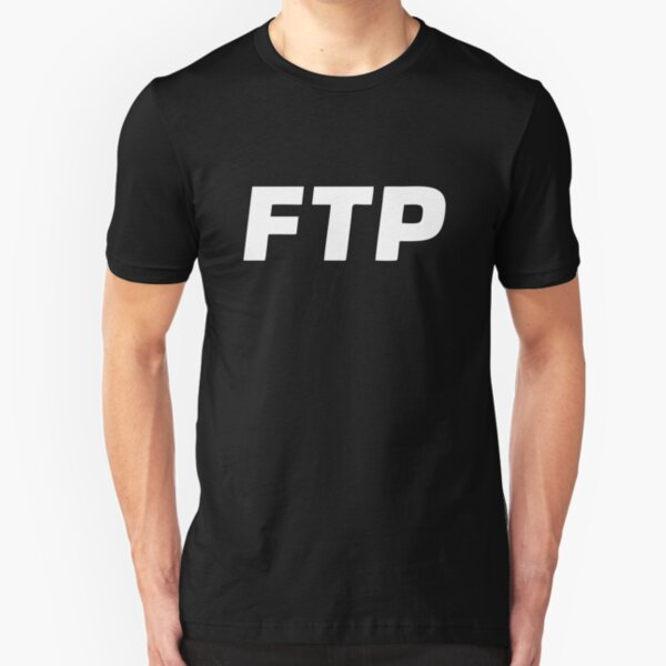 Copy of BEST SELLER All Over Fuck The Population FTP Merchandise Slim Fit T-Shirt