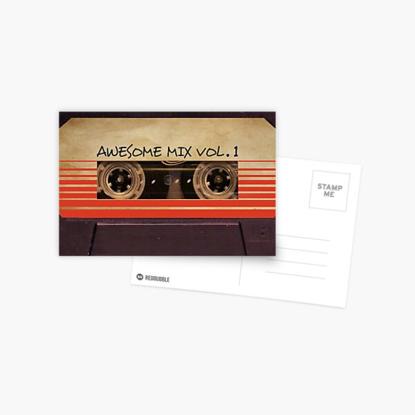 Awesome Mix Vol. 1 Postcard