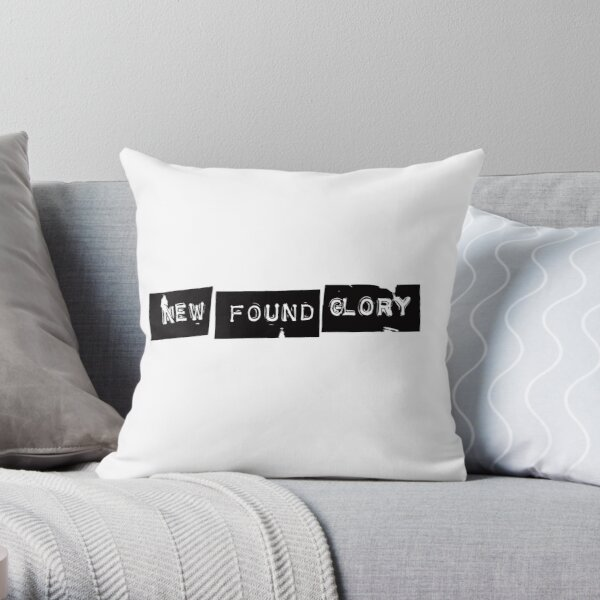 New Found Glory Logo Throw Pillow