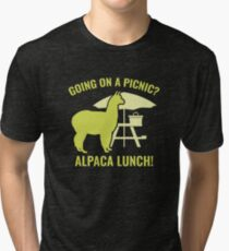 Going On A Picnic? Tri-blend T-Shirt