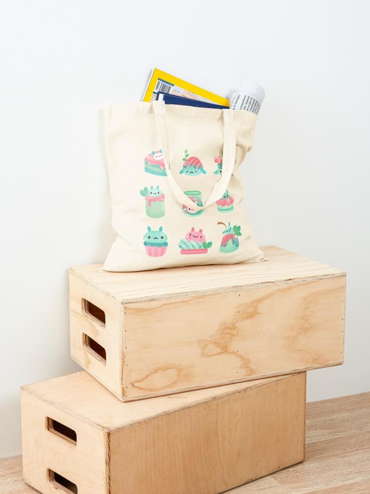 Alternate view of Choco Mint Rabbit Tote Bag