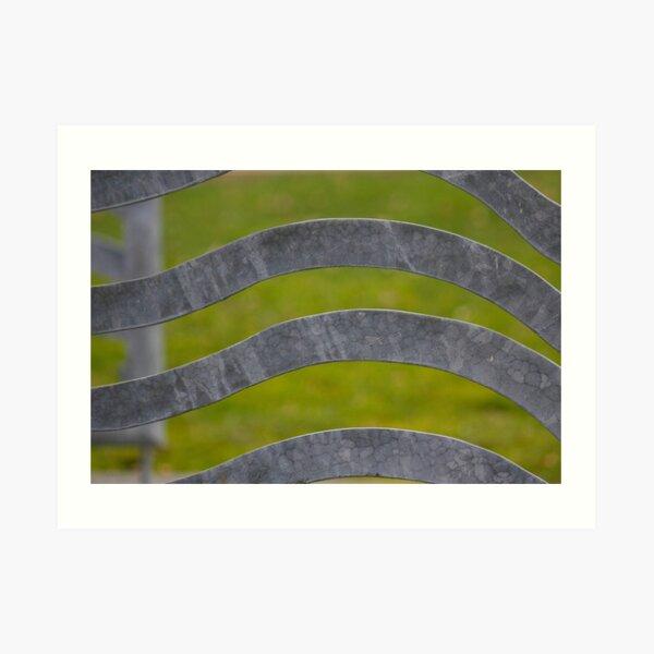 Waves of Steel Art Print