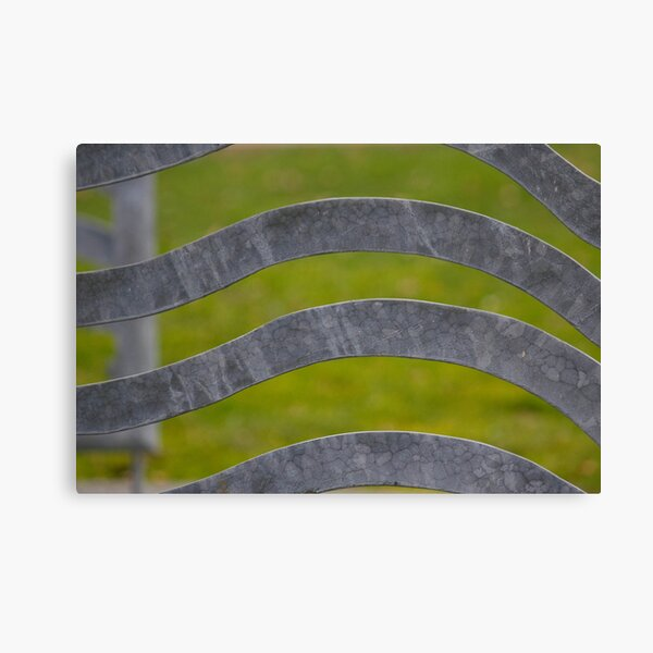 Waves of Steel Canvas Print