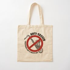 Anti-Saxxer Cotton Tote Bag