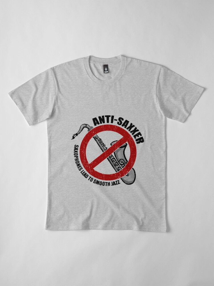 Alternate view of Anti-Saxxer Premium T-Shirt