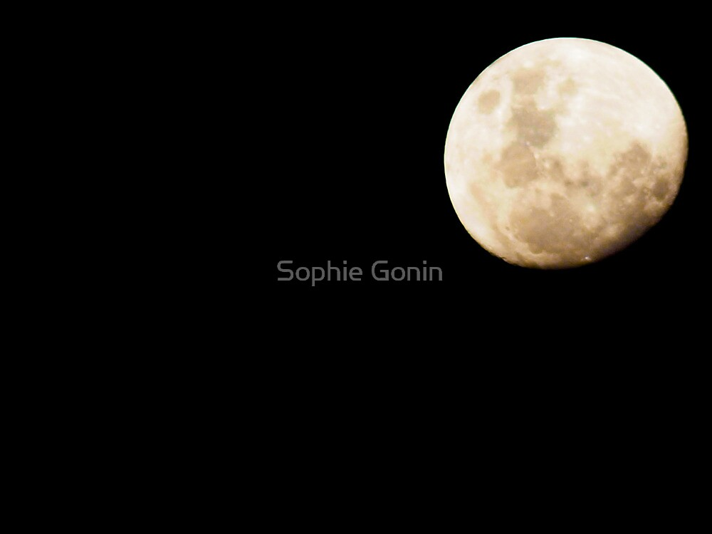 African Moon by Sophie Gonin