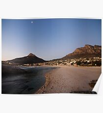Camps Bay, Cape Town Poster