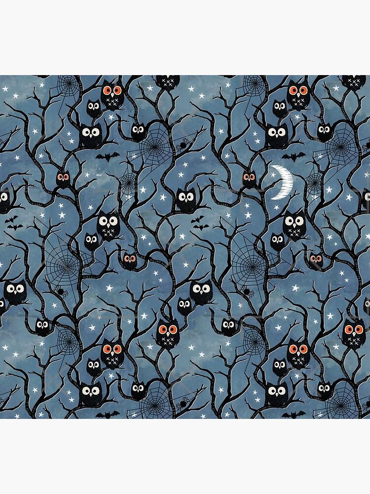 Spooky woods owls by adenaJ