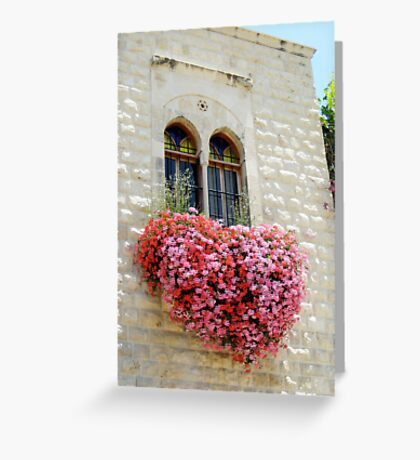 The Heart is a Bloom Greeting Card