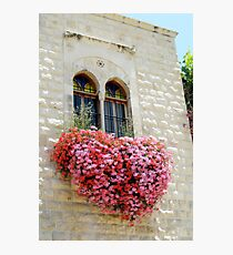 The Heart is a Bloom Photographic Print