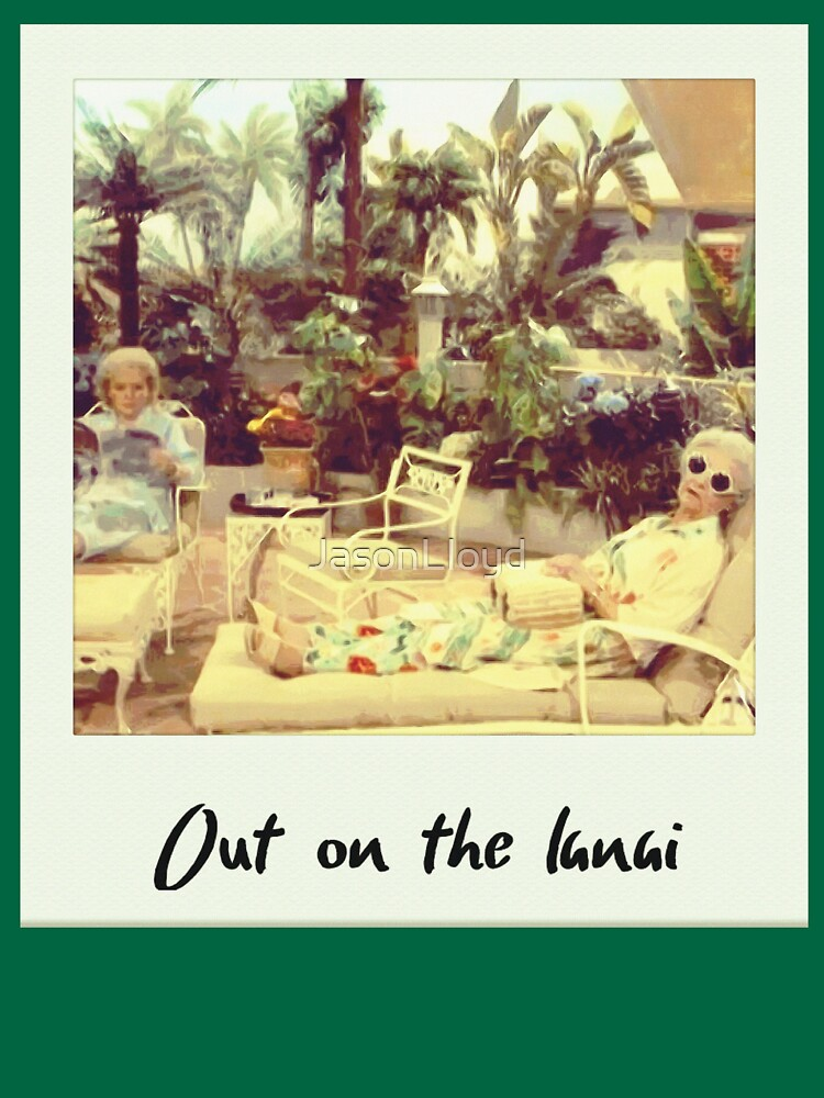 Out On The Lanai by JasonLloyd