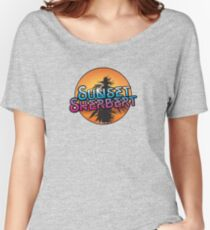 Sunset Sherbert Camiseta ancha