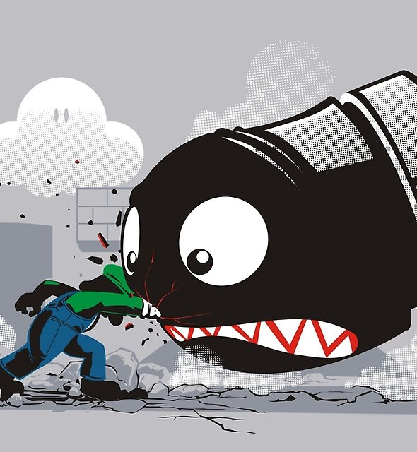 LUIGI: ALWAYS ANGRY by Adams Pinto