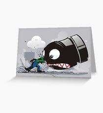 LUIGI: ALWAYS ANGRY Greeting Card