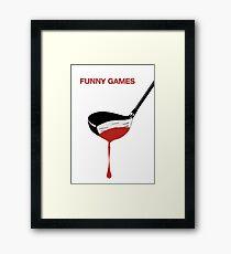 Funny Games Framed Print