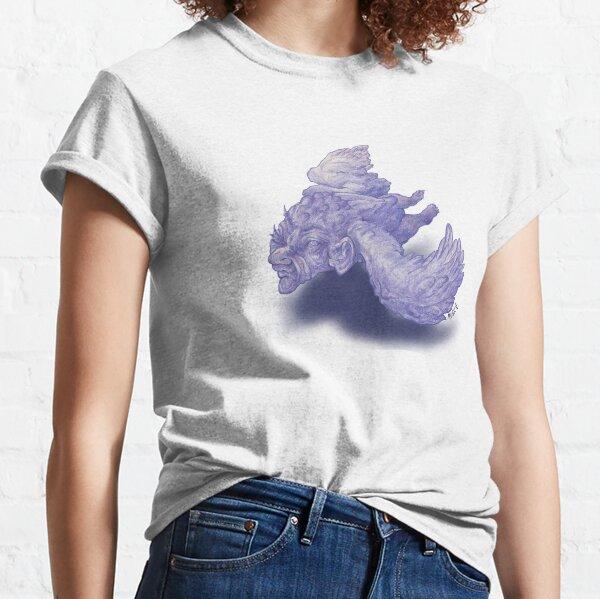 Purple Baba Yaga Approaching  Classic T-Shirt