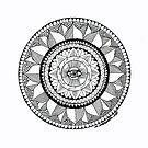 Eye Mandala by Mark Bodhisattva Hill