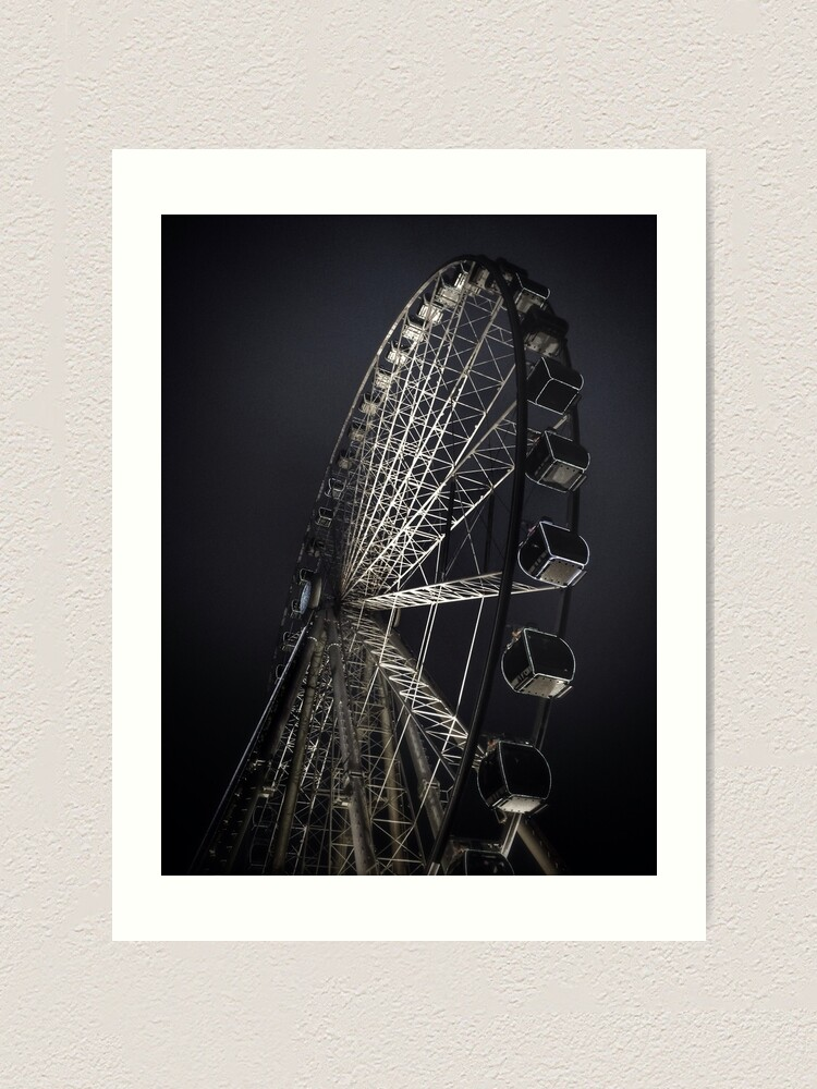Alternate view of Manchester City Wheel Art Print