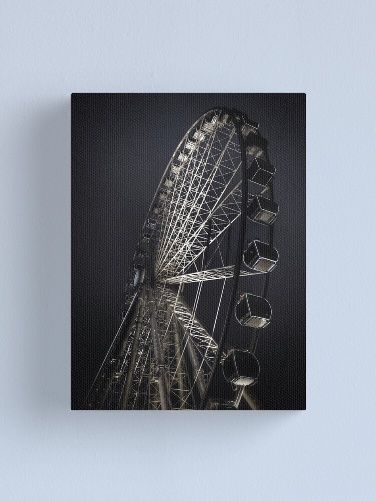 Alternate view of Manchester City Wheel Canvas Print