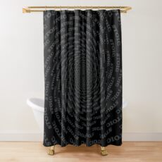 Stoic - Vortex to Calm - Stay Stoic Shower Curtain