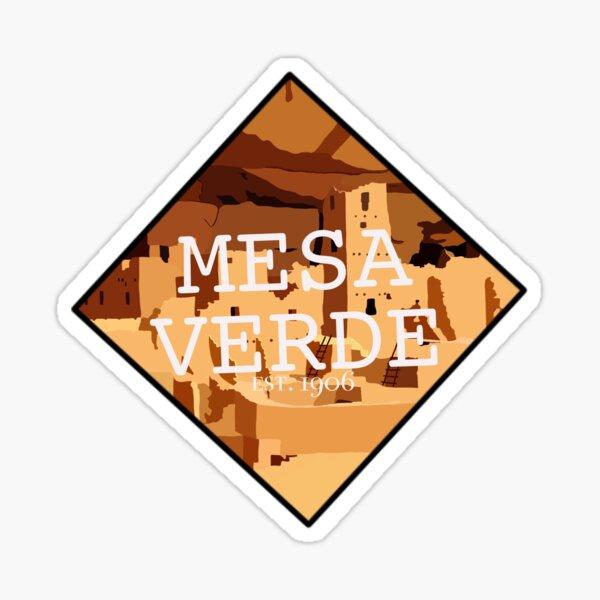 Mesa Verde National Park Sticker