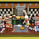 Dirty Dave's Dirty Diner  by minifignick