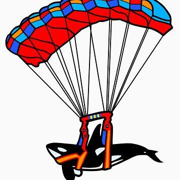 Flying Orca! by MKMasonArts