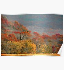 Top Of Autumn Poster