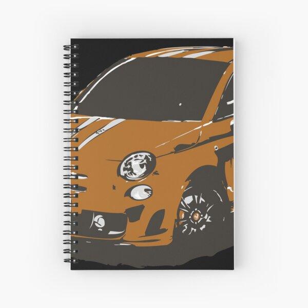 FIAT 500 Abarth - Cute Little Italian City Car Spiral Notebook