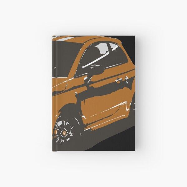 FIAT 500 Abarth - Cute Little Italian City Car Hardcover Journal