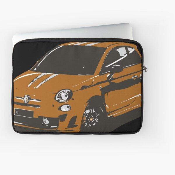 FIAT 500 Abarth - Cute Little Italian City Car Laptop Sleeve