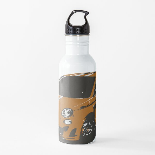 FIAT 500 Abarth - Cute Little Italian City Car Water Bottle