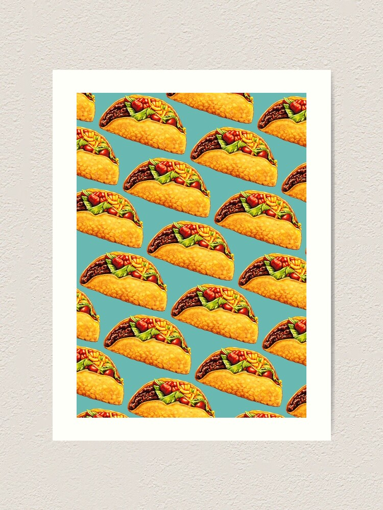 Alternate view of Taco Art Print