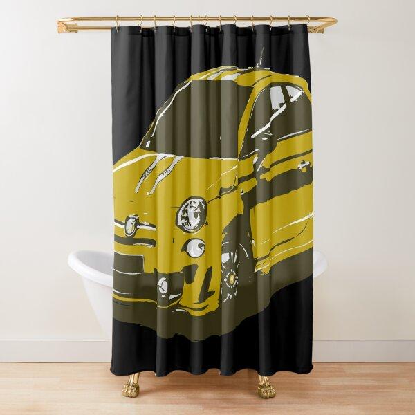 FIAT 500 Abarth - Cute Little Italian City Car Shower Curtain