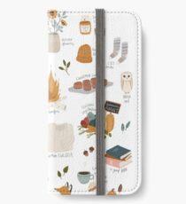 Hello Autumn iPhone Wallet/Case/Skin