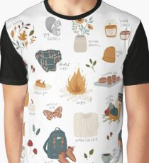 Hello Autumn Graphic T-Shirt