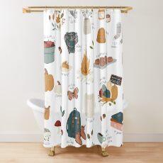 Hello Autumn Shower Curtain
