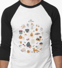 Hello Autumn Baseball ¾ Sleeve T-Shirt